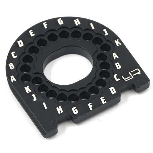 Yeah Racing Aluminium Motor Mount Black For Traxxas Ford GT 4 Tec 2.0