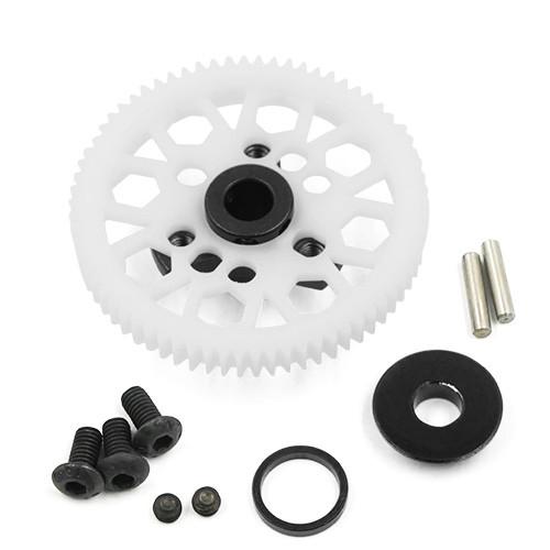 Yeah Racing Aluminium Spur Gear Adapter Black For Traxxas Ford GT 4 Tec 2.0