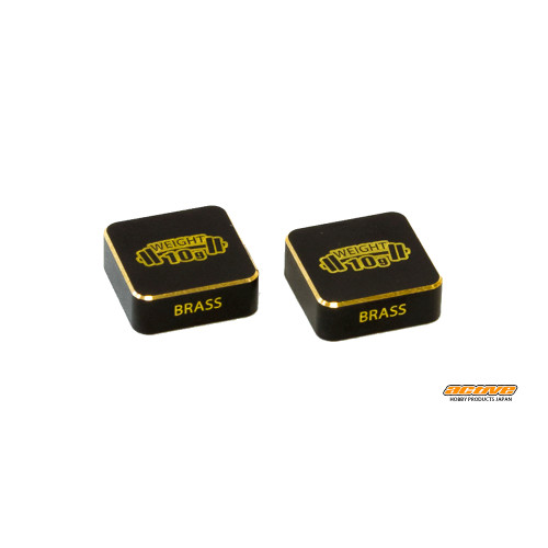 Active Hobby 2 x 10g Black/Gold weight