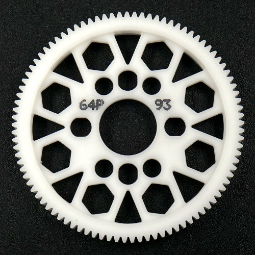 Yeah Racing 93T Delrin Spur Gear 64DP for 1/10th Touring & Drift