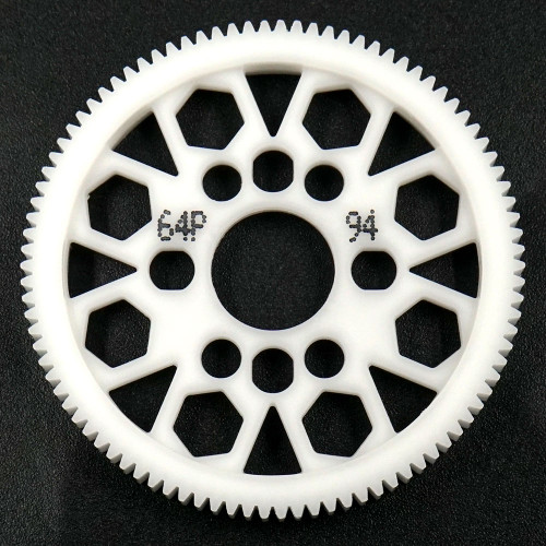 Yeah Racing 94T Delrin Spur Gear 64DP for 1/10th Touring & Drift