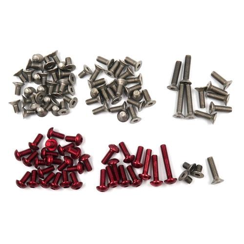 Titanium And 7075 Aluminium Screw Set For Xpress XQ2S