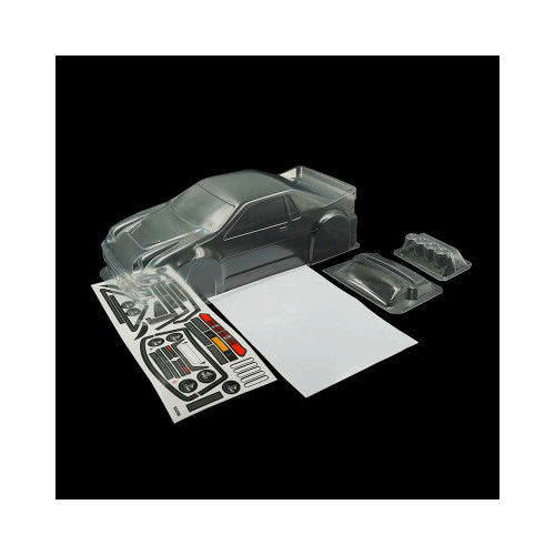 Slidelogy RS200 Racing Sedan Lexan Clear Body 225mm For 1/10 M-Chassis