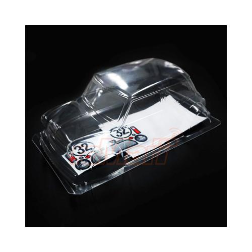 Slidelogy 1/10 225mm Mini Clear Body