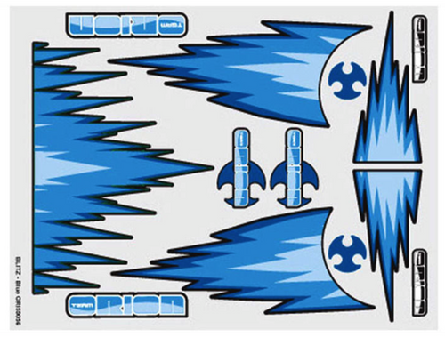 Team Orion internal body graphics Blitz Blue