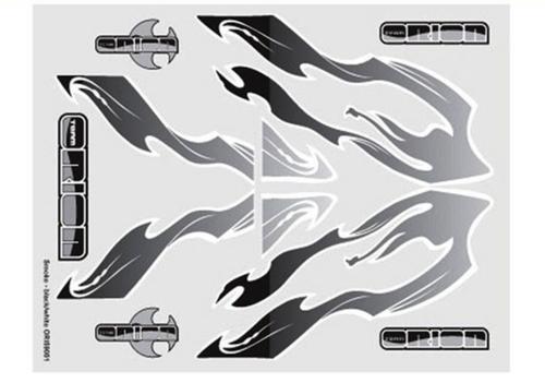 Team Orion internal body graphics Smoke Black/White