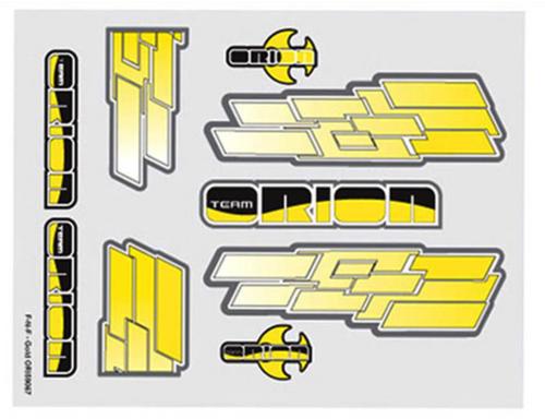 Team Orion internal body graphics F-N-F Gold