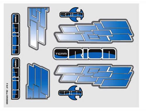 Team Orion internal body graphics F-N-F Blue