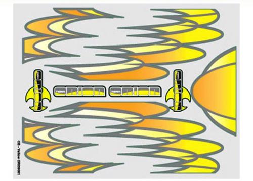 Team Orion internal body graphics CB Gold