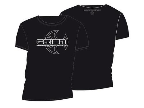 Team Orion Black T-Shirt with White Orion Logo Size XXL