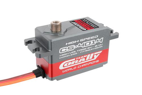Corally CS-4014 High Speed HV 6V-8.4V Coreless Titanium Gear Servo