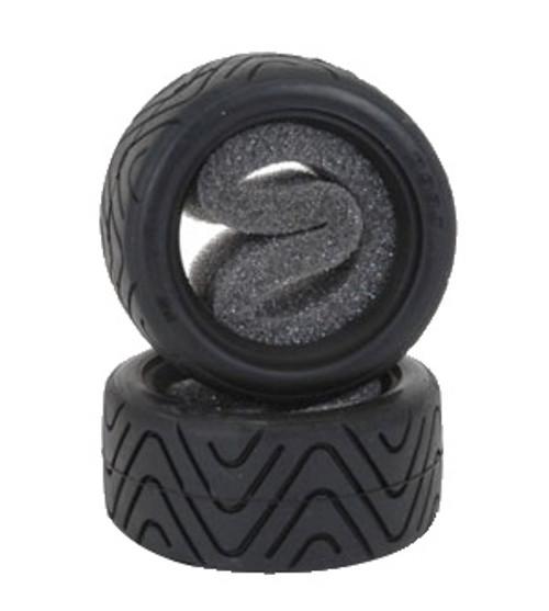 Shimizu Treaded Tyres (pr) for Tamiya Mini - Hard