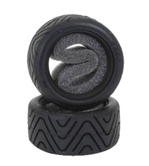 Shimizu Treaded Tyres (pr) for Tamiya Mini - Medium