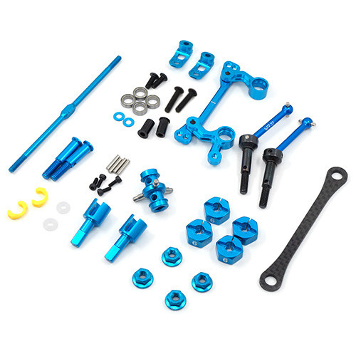 Drivetrain And Steering Upgrade Kit For Tamiya M05 M06