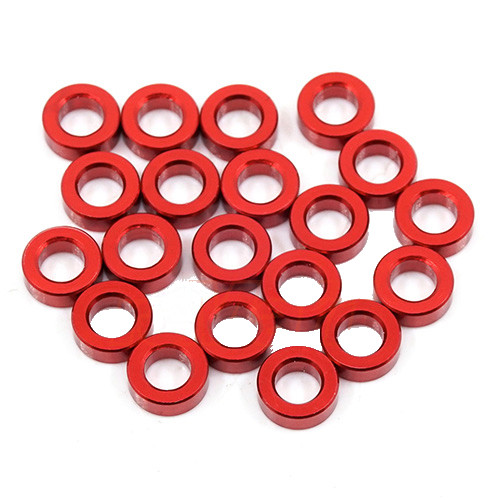 XQ1 Alloy Shim 3x6x2.0mm Red (20 pcs)