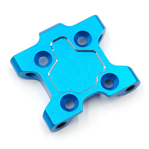 Yeah Racing Alloy Front Suspension Mount For Tamiya M07 Blue