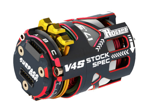 SURPASS V4S 13.5T ROCKET SENSORED STOCK MOTOR BRCA AND EFRA LEGAL