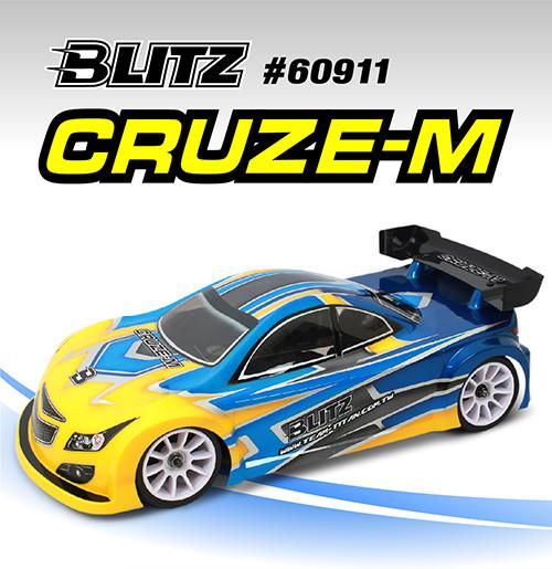 BLITZ 1/10 CRUZE-M  M Chassis Body
