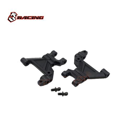 3Racing Front Suspension Arm Set Black For Tamiya M07, MINI MG EVO
