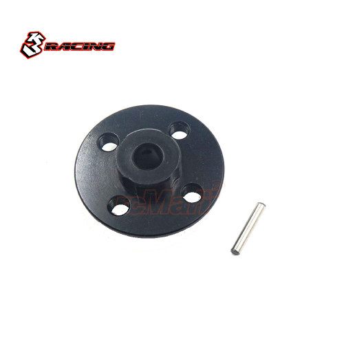 3Racing Alloy Spur Gear Adaptor Set Black For Sakura D4 Sakura Mini MG