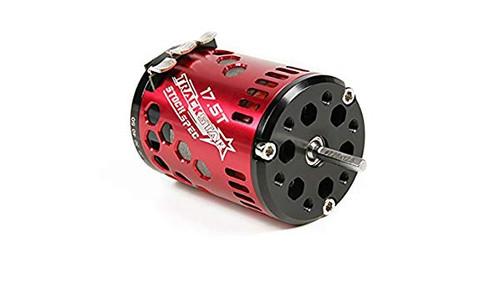 TrackStar 17.5T Stock Spec Sensored Brushless Motor V2 (ROAR approved) M-TC Control Motor
