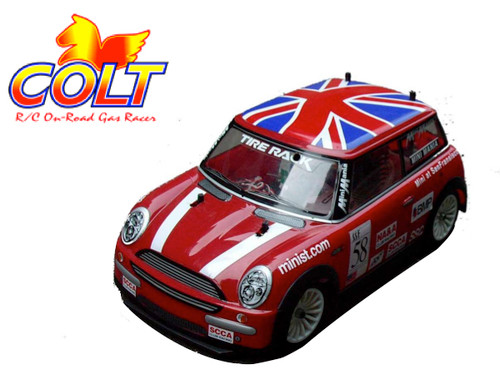 Colt New Mini Cooper M-Chassis Body with Decal