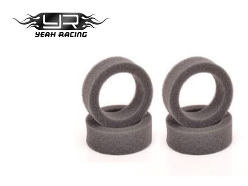 Yeah Racing  Inner Sponges (4pcs) for all 1:10 M-Chassis
