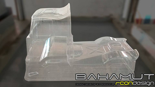 RCON M-BAHAMUT 210-225mm Clear Body For 1/10 M Chassis