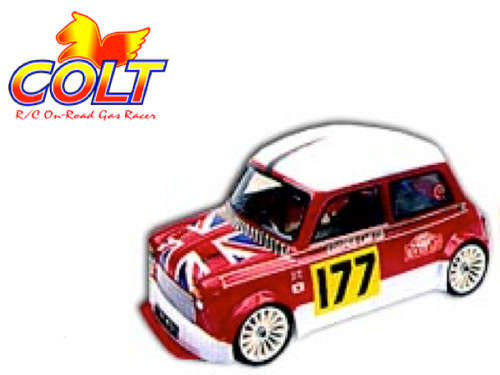 Colt Mini Cooper M Chassis Body with Decal