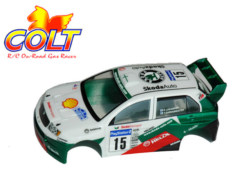 Colt Skoda Fabia M Chassis Body with Decal