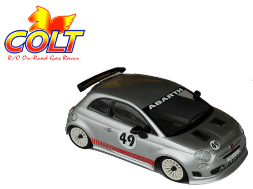 Colt Fiat Abarth 500 M Chassis Body with Decal
