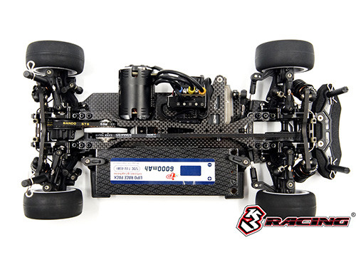 3 Racing Sakura M4 Pro Full Spec M Chassis kit