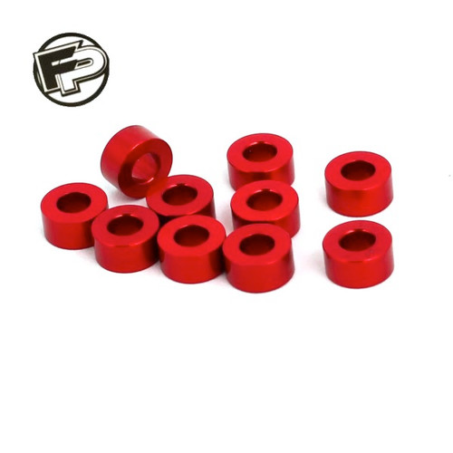 Factory Pro 3mm Red Shim/Washer (10 pcs)
