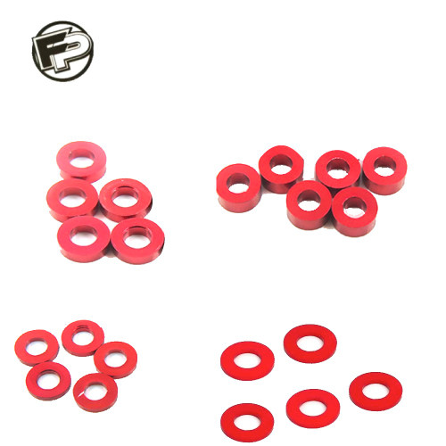 Factory Pro 0.5, 1.0, 2.0, 3.0mm Red Shim/Washer (20 pcs)