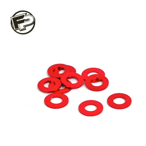 Factory Pro 0.5mm Red Shim/Washer (10 pcs)