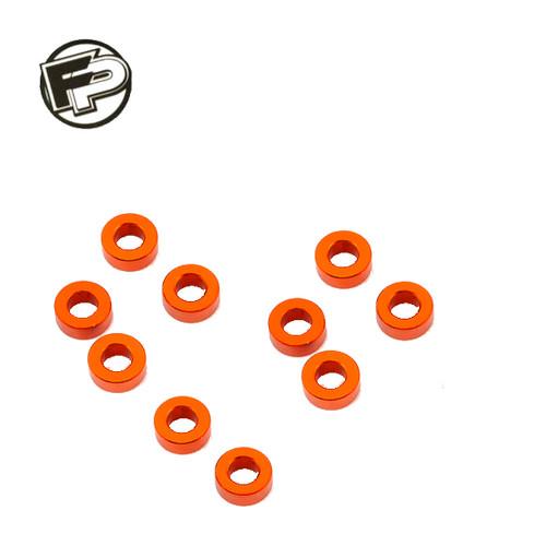 Factory Pro 3mm Orange Gold Shim/Washer (10 pcs)