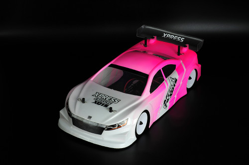 Xpress Sonic 190mm Lexan Clear Body For 1/10 RC Touring Car