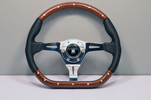 Nardi Kallista Wood/Leather 350mm - 5055.35.3000