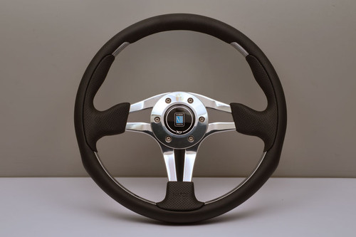 Nardi ND 4 Metal 350mm Leather- 6313.35.3071