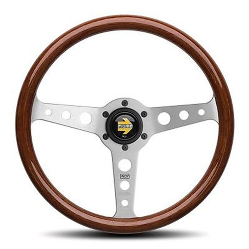 MOMO Indy 350mm Wood Steering Wheel - IND35MA0P
