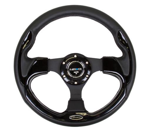 NRG 320mm Sport Steering Wheel w/ Black Trim (ST-001BK)
