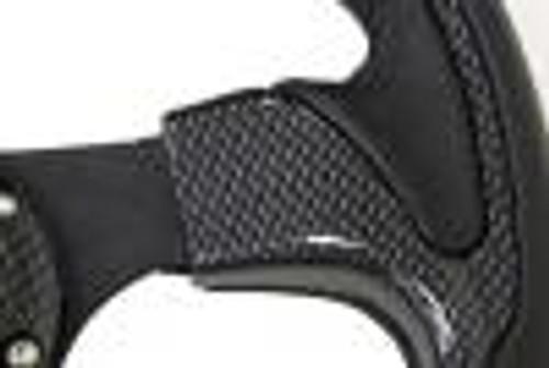 NRG 320mm Sport Steering Wheel w/ Carbon Look