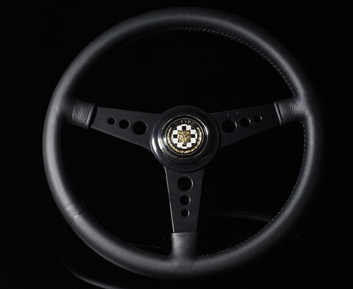 Moto-Lita Jaguar XKE Type - Custom (Leather Rim) Classic Replacement Steering Wheel