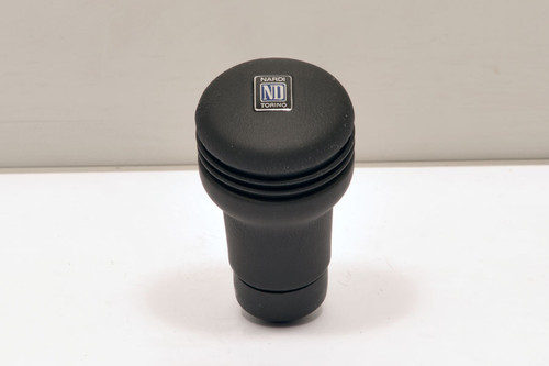 Nardi Evolution Line Leather Gear knob in black leather (3202.00.0100)