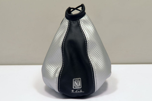 Nardi Leather Gaiter Black / Silver (3600.13.0000)