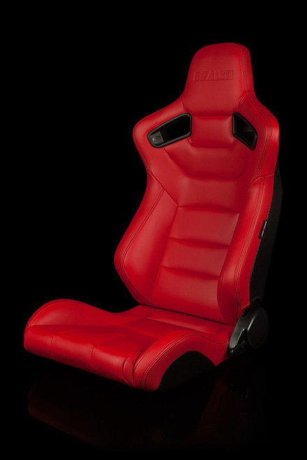 Braum Elite Series Racing Seats Solid Color Leatherette