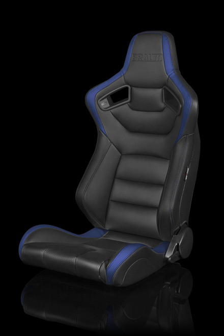 Braum Elite Series Racing Seats Two Tone Color Leatherette