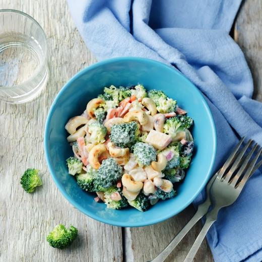Broccoli Salad with Greek Yogurt Dressing