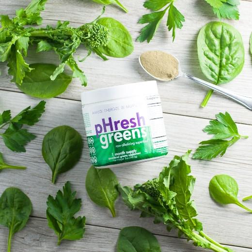 Is pHresh Greens organic?