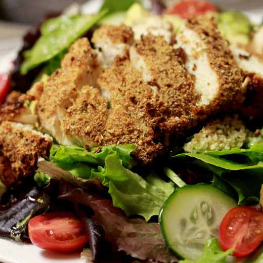 Crusted Chicken Breast